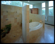 Parade of Homes Master Bath - Greenshores (Barefoot Cove) Austin, Tx