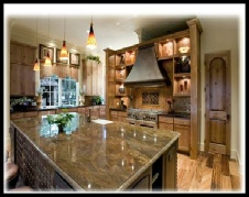 Parade of Homes Kitchen - Cimarron Hills - Georgetown, Texas
