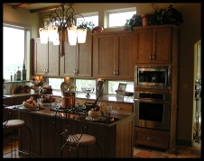 Parade of Homes Kitchen - Georg Ranch Subd. New Braunfels, Texas